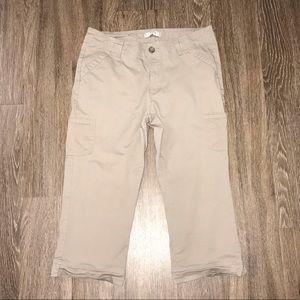 Lee Riders Khaki Capri Pants, Size 14 Medium